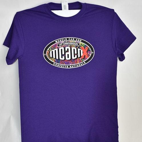 Purple Tee Shirt 10th Anniversary