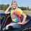 Thumbnail: Ladies V-Neck Tie Dye Tee Shirt