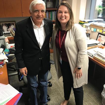Pesquisadora da LAPMOL e aluna de mestrado da FCM/UNICAMP visita MD Anderson Cancer Center