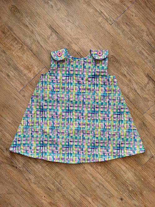Spring Plaid Baby Girl Dress