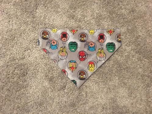 Grey Marvel Heads