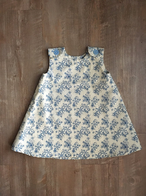 Winter Snowflakes Girl Dress