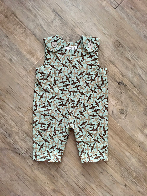Military Planes Baby Jumpsuit