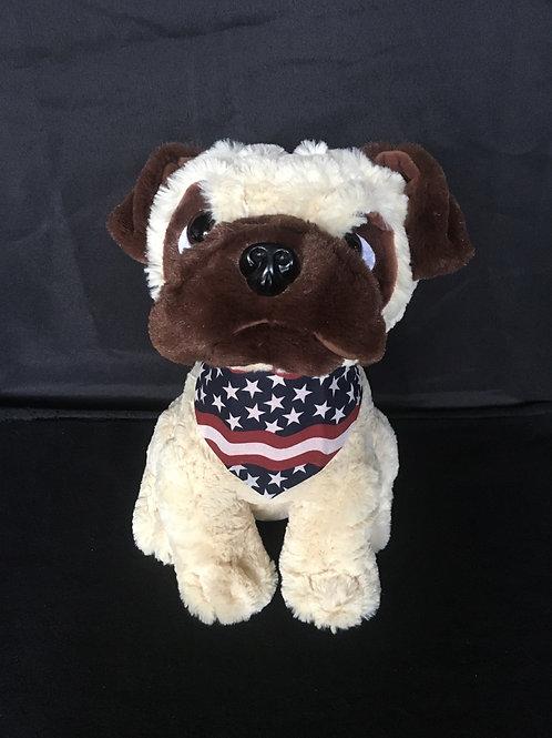 American Flag Bandana - C