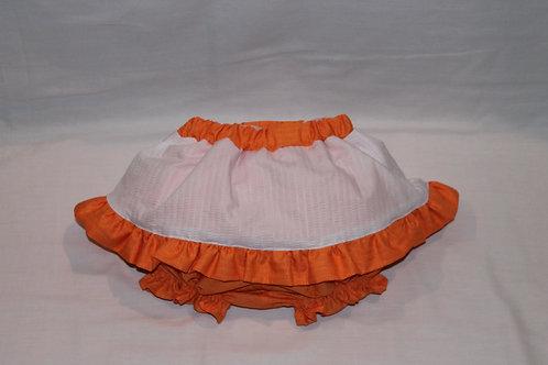 Bloomer w/Skirt Overlay