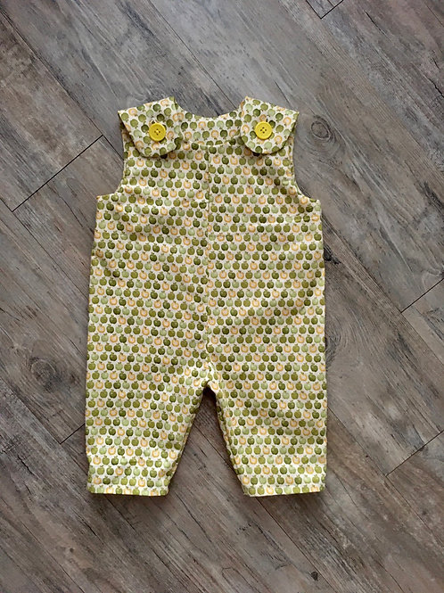 Green Apples Baby Jumpsuit
