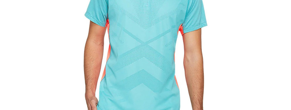 Playera Club M Polo, Aqua, Asics