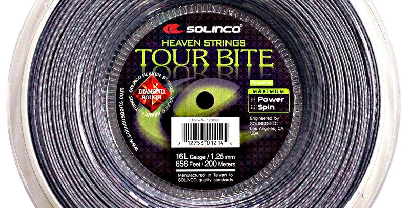 Tour Bite Diamond Rough Rollo, Solinco