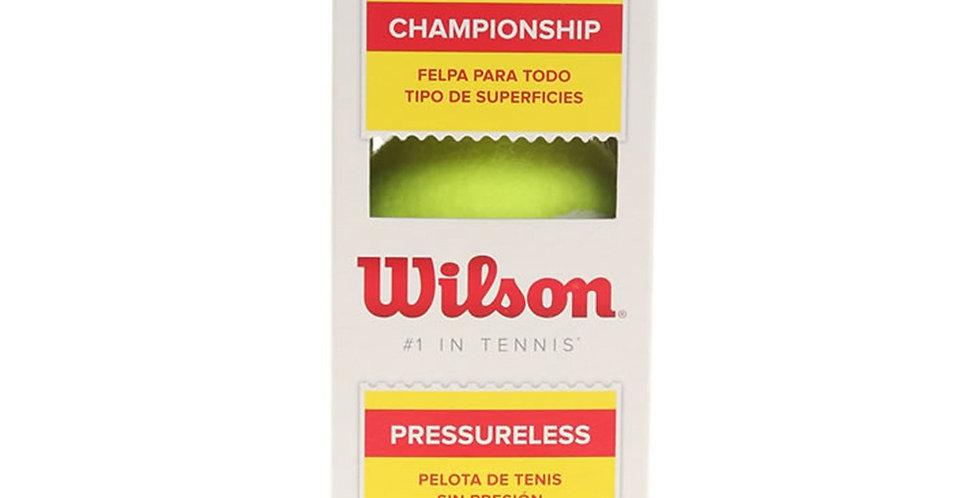 Pelota Championship S/Presion, Wilson