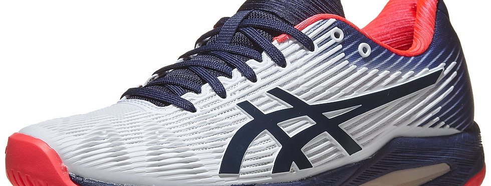 Solution Speed FF White/Navy, Mujer,Asics