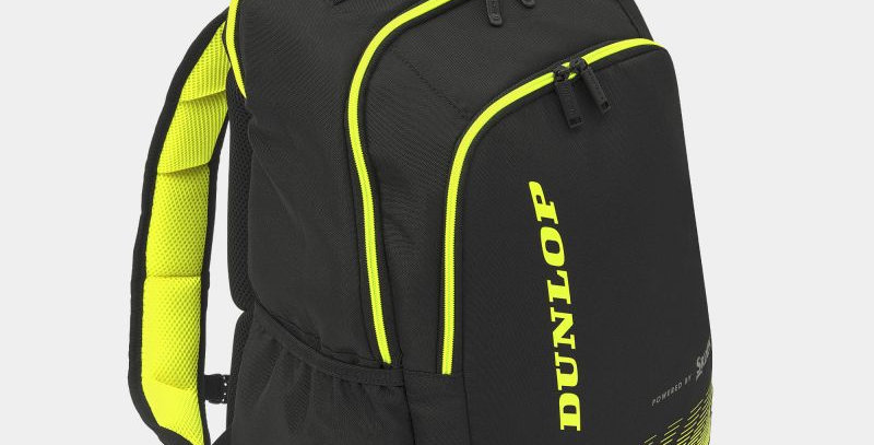 Fx Performance BackPack,Negro/Amarillo, Dunlop