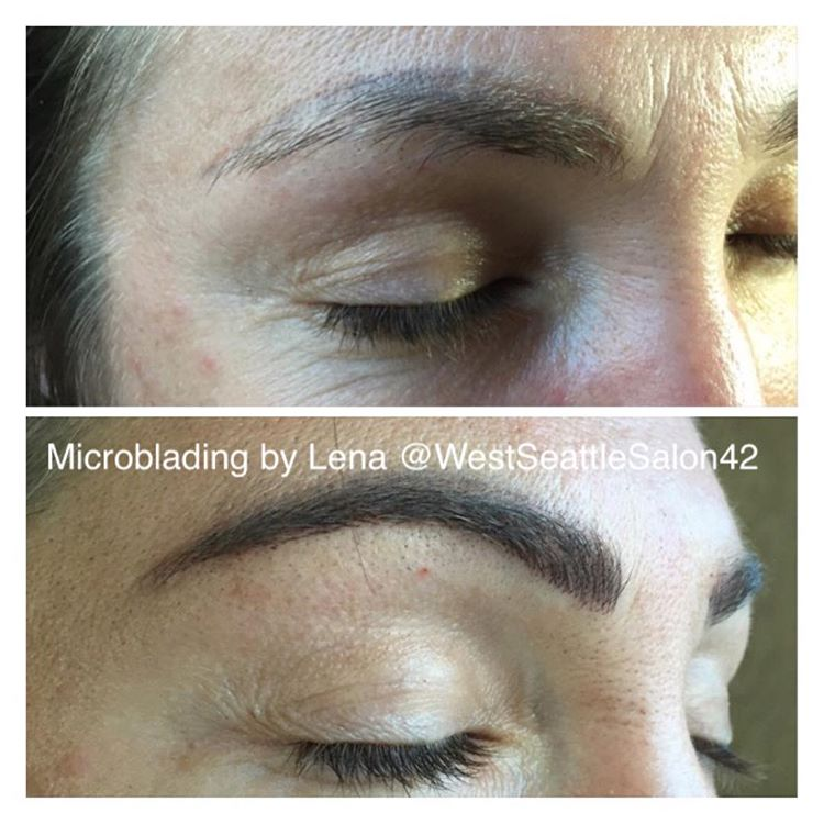 Microblading Before and After