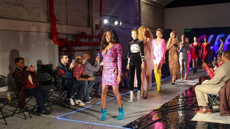 Kia Von Vega Fashion Show