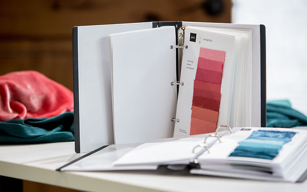 Personalized color binder