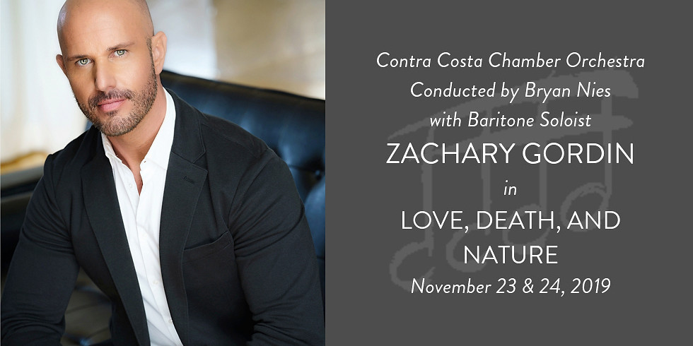 Contra Costa Chamber Orchestra: Love, Death, and Nature