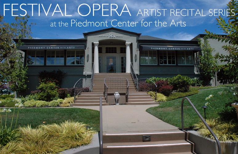 Festival Opera Artist Recital Series