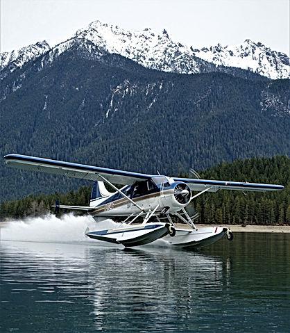 1959 De Havilland Beaver N8134G Lake Cushman WA