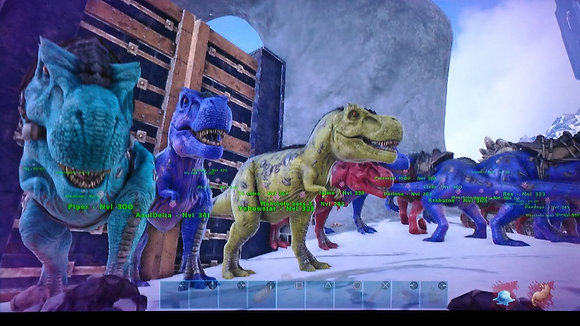 BOSS REX (10) BUNDLE AND YUTY PVP PS4 OFFICIAL SERVER