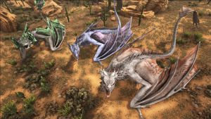 WYVERN PACK (3) PVP PS4 OFFICIAL