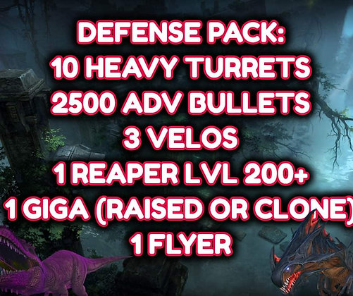 Defense Pack (Pc PvP)