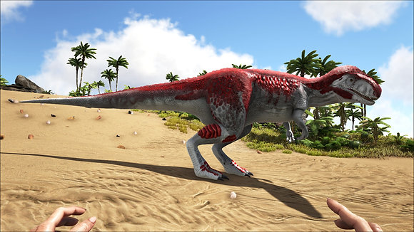 MEGALOSAURUS PS4 SMALL TRIBES