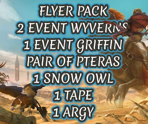 FLYER PACK (PVP OFFICIAL PS4