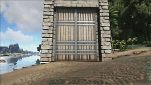 Stone Behemoth Gate Set OFFICIAL PVP PS4