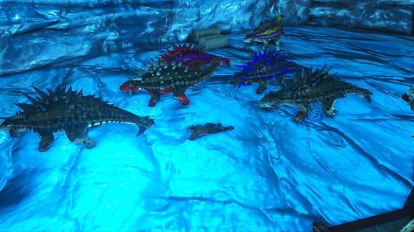 Ankylosaurus TOP STATS (official ps4 pvp)