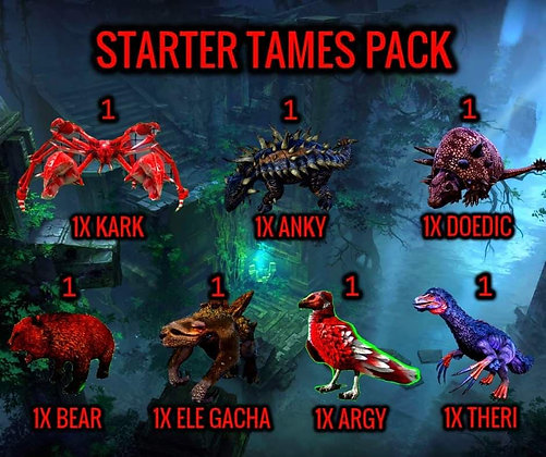 TAMES PACK PS4 PVP OFFICIAL