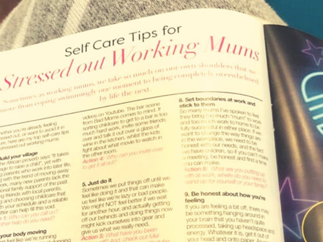 Top 10 self care tips for stressed out mums