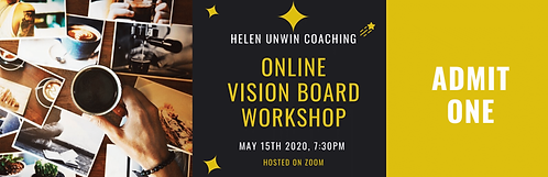 Online Vision Board Ticket