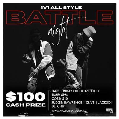 Dance Battle social media poster