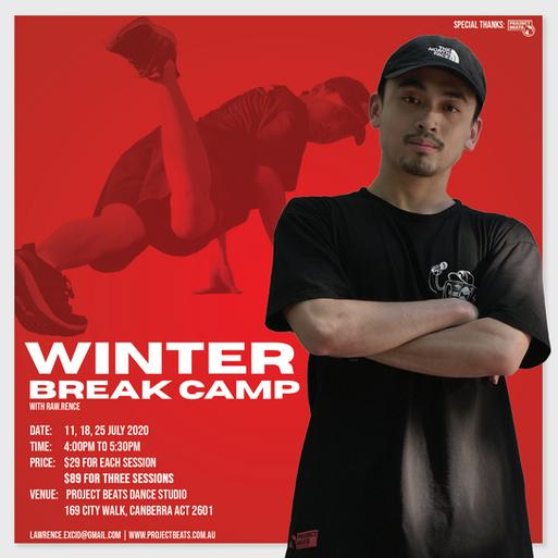 Winter Break Camp IG poster