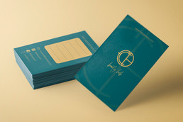 FCB beauty hub name card design