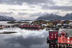 Norway, Lofoten Svolvær