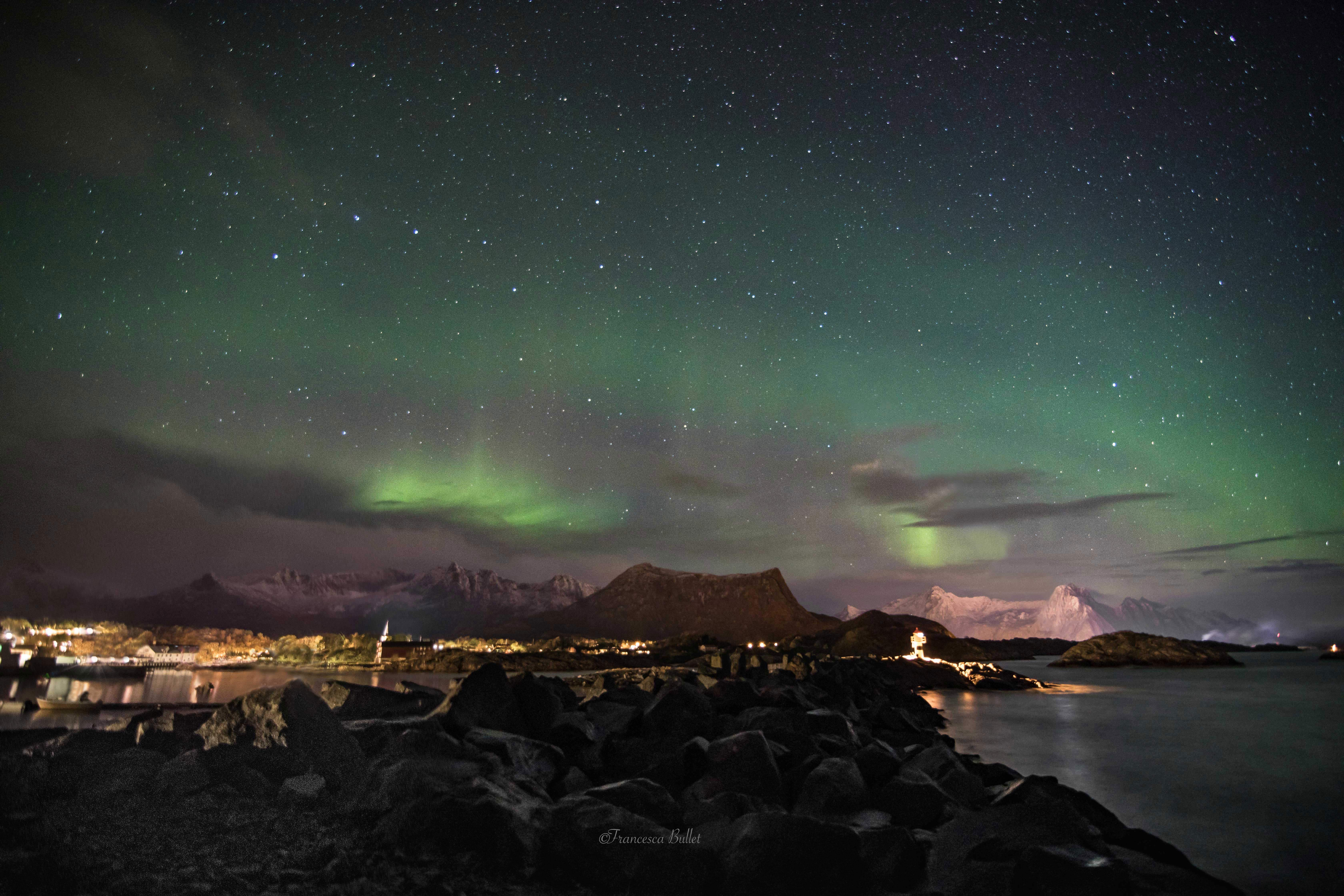 Norway, Lofoten - Northern Lights