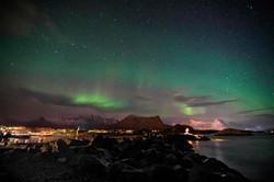 Norway, Lofoten - Northern Lights