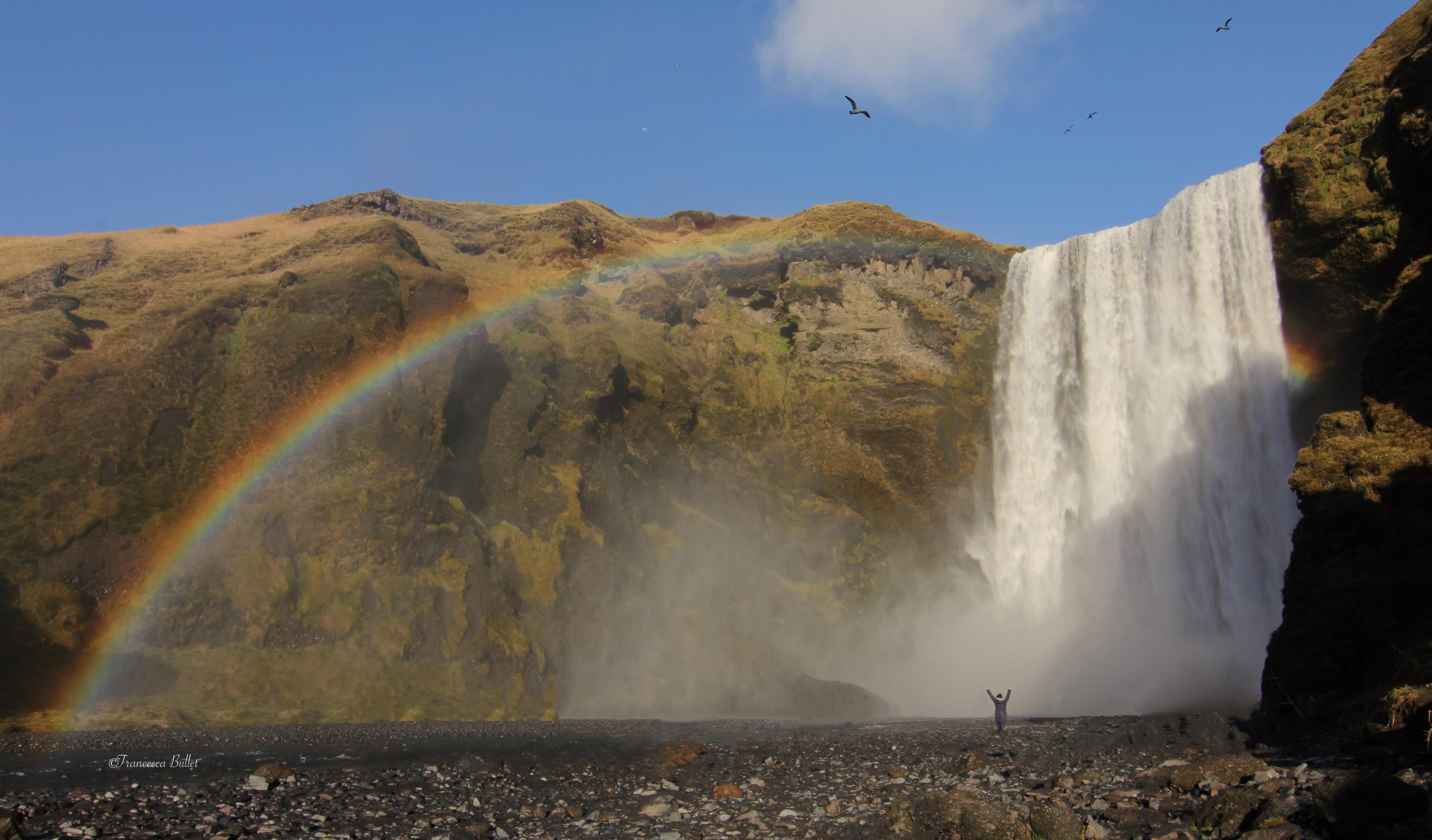Iceland, Skógafoss