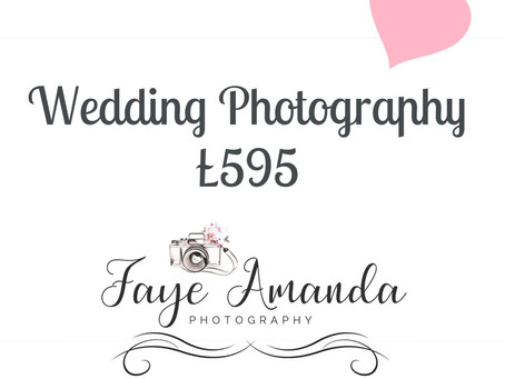 Full day wedding photography offer x