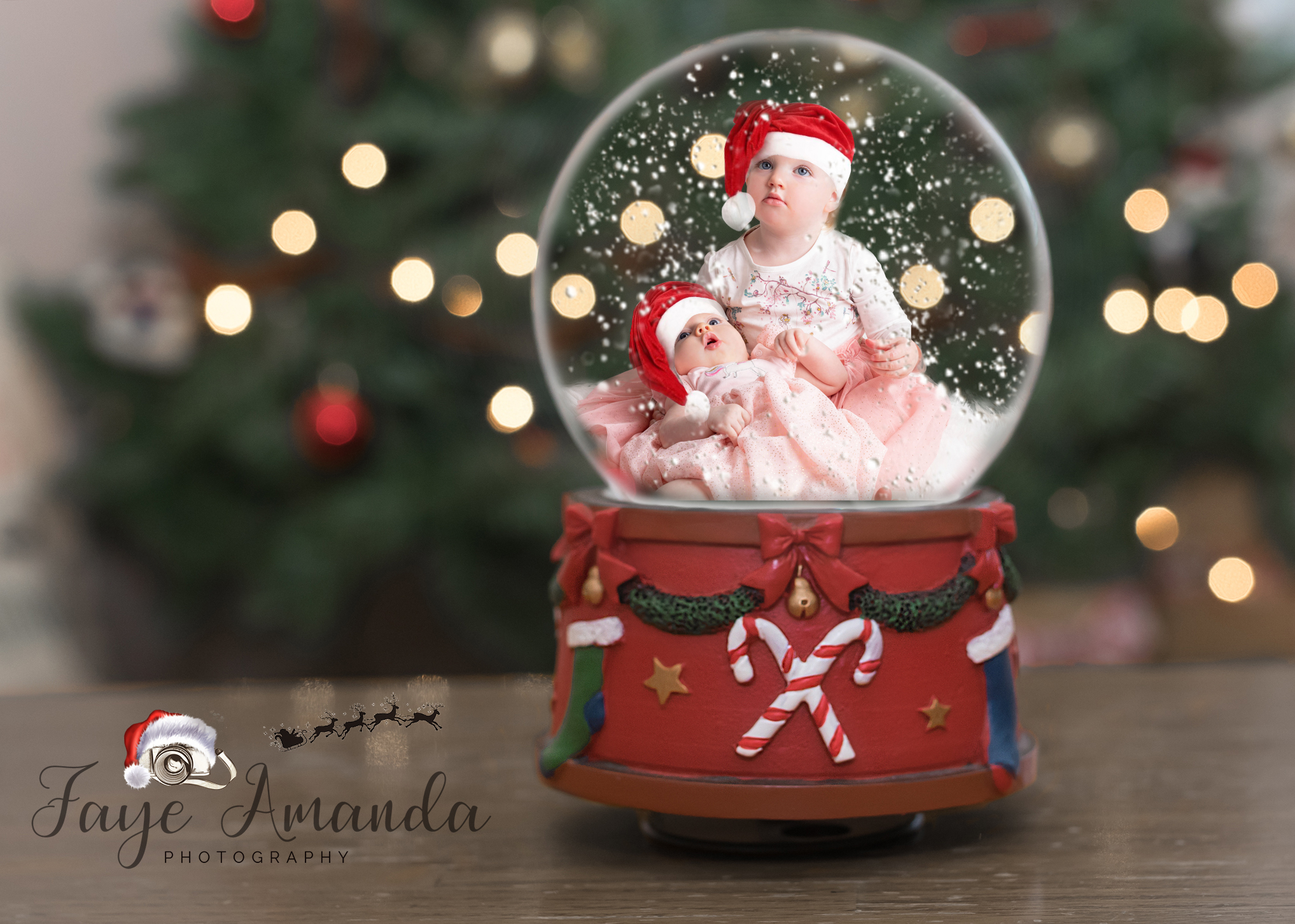 Snow Globe Christmas edit