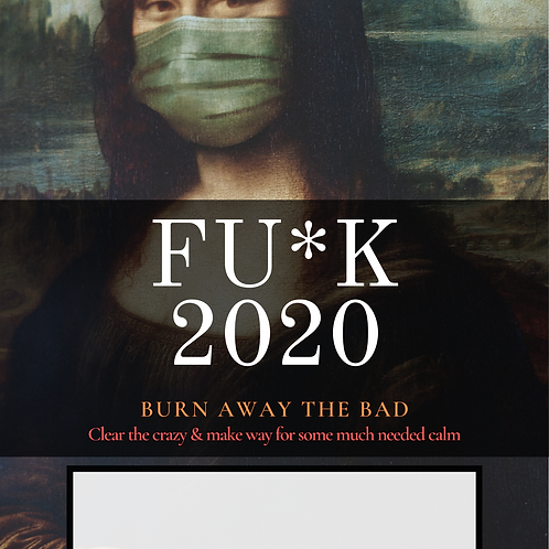 FU*K 2020 7 Day Candle