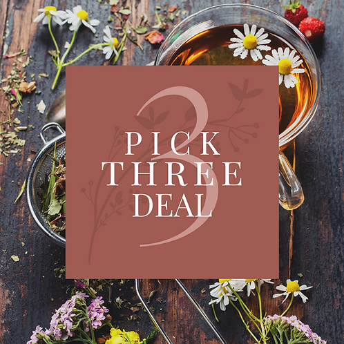 Pick Three Teas Deal
