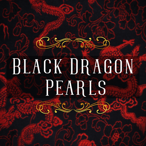 Black Dragon Pearls Black Tea