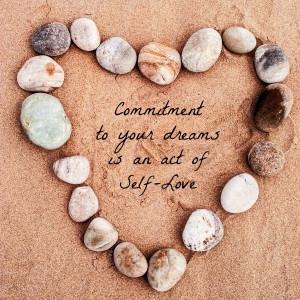 At udleve sine drømme er også selvkærlighed