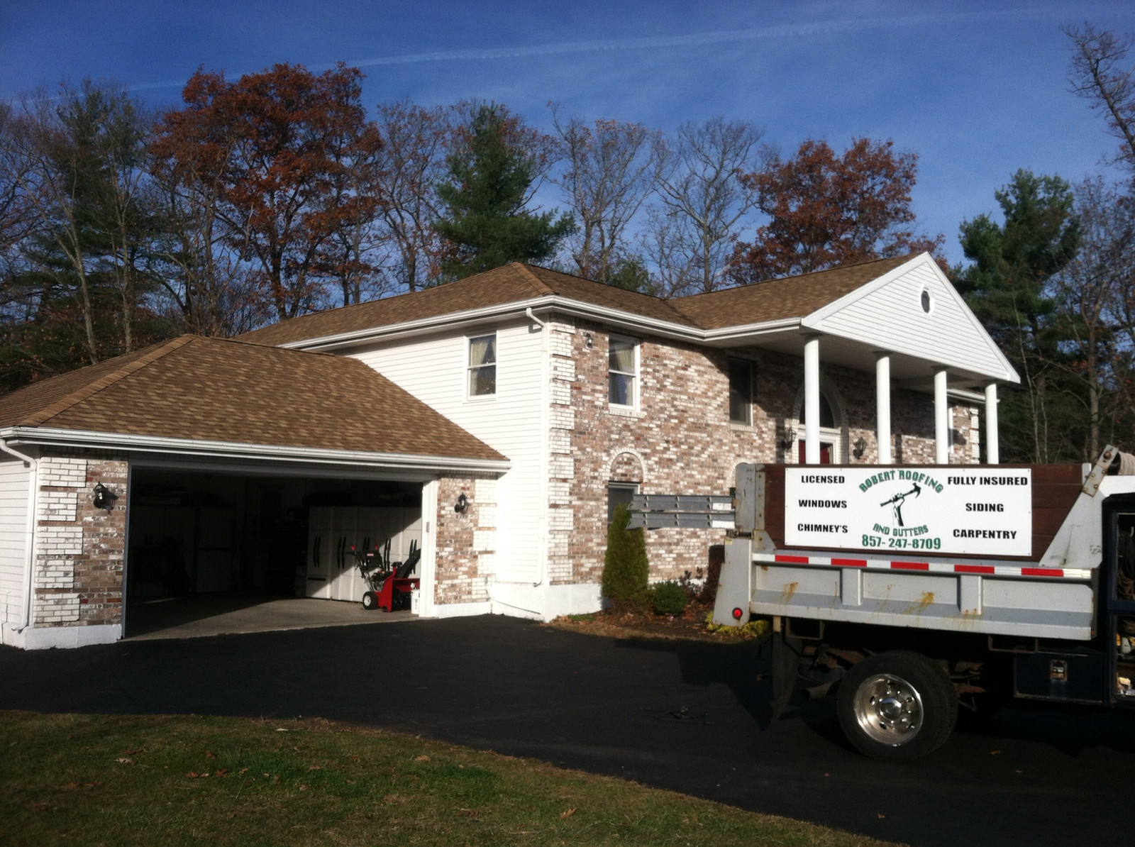 Robert Roofing Amp Gutters Norfolk Ma Home