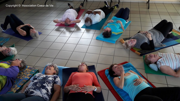 Yoga du Rire à Chivres 3