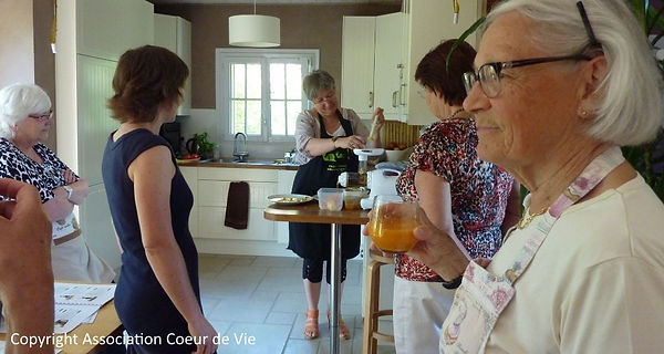 Atelier cuisine d'Anne-Claire Lauvergnier