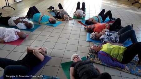 Yoga du Rire à Chivres 4