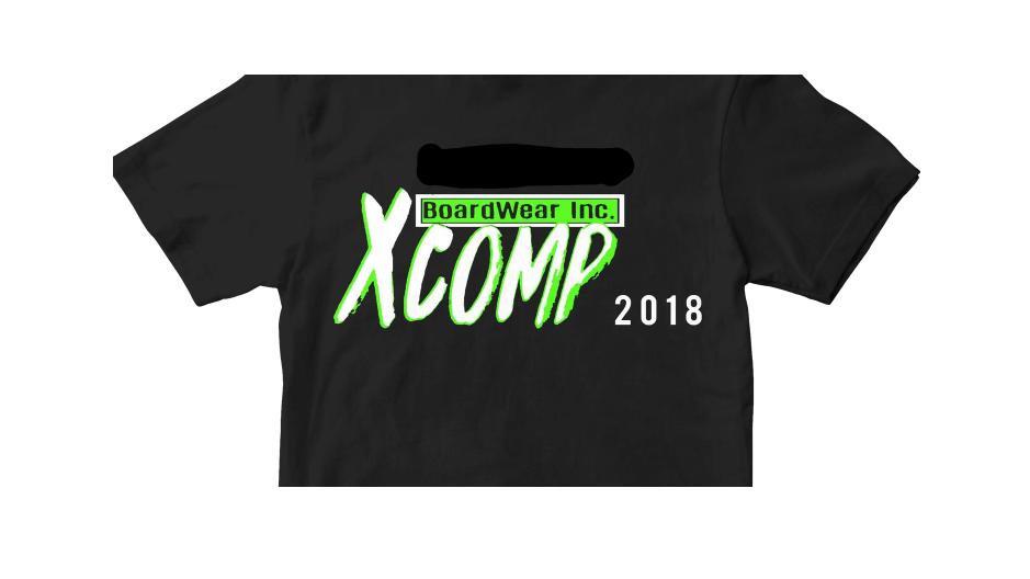 XComp 2018 Tee (Clean Version)