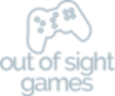 Out of Sight Games Gray Logo
